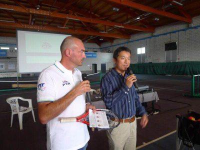 PTR中国推广人赴意大利PTR年会演讲中国发展之路